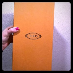 Tods Shoe Box Empty